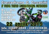 Campionato Regionale UISP Trofeo Umbria MotoCross 22 Aprile 2019 Citta di Castello (PG) Umbria
