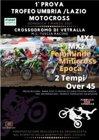 Fase 2 - UISP Trofeo Umbria MotoCross 07 Marzo 2021 Vetralla (VT) Lazio