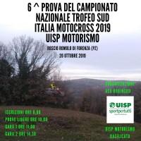 Campionato Nazionale UISP Trofeo Sud Italia MotoCross 20 Ottobre 2019 Forenza (PZ) Basilcata
