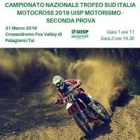 Campionato Nazionale UISP Trofeo Sud Italia MotoCross 31 Marzo 2019 Palagiano (TA) Puglia