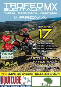 Campionato Nazionale UISP Trofeo Sud Italia MotoCross 17 Marzo 2019 Ascoli Satriano (FG) Puglia