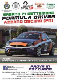 Trofeo Formula Driver Notturna 14 Settembre 2019 Azzano Decimo (PN) Friuli-Venezia-Giulia