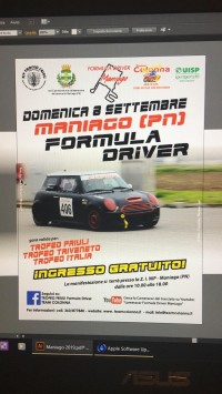 6° TROFEO CITTA' DI MANIAGO 08 Settembre 2019 Maniago (PN) Friuli-Venezia-Giulia
