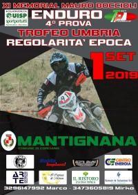 Campionato Regionale UISP Trofeo Umbria Enduro 1 Settembre 2019 Mantignana (PG) Umbria