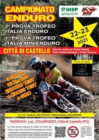 Campionato Nazionale UISP Trofeo ITALIA Enduro 22/23 Maggio 2021 Coldipozzo di Città di Castello (PG) Umbria